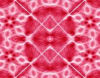 Fond géométrique rouge abstrait Image libre de droits