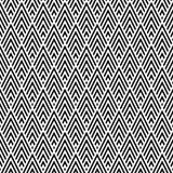 Fond géométrique sans couture élégant de modèle illustration libre de droits