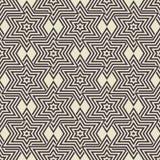Fond géométrique sans couture Images stock