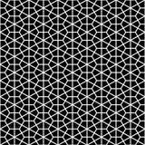 Fond géométrique sans couture décoratif de modèle de vecteur Images stock