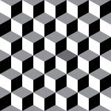 Fond géométrique sans couture décoratif de modèle de vecteur Photos libres de droits