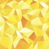 Fond géométrique sans couture de modèle triangulaire de polygones illustration de vecteur