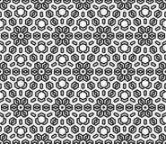 Fond géométrique sans couture de vecteur Photographie stock