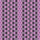 Fond géométrique sans couture illustré, modèle de répétition Photo stock