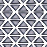 Fond géométrique sans joint abstrait Image stock