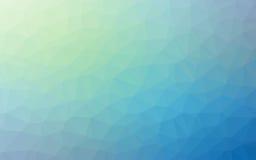 Fond géométrique simple abstrait de Violet Blue d'origami de ton de nature Images libres de droits
