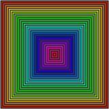 Fond géométrique sous forme de places colorées illustration stock