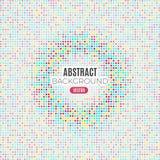 Fond géométrique tramé d'Absract Illustration de vecteur Images libres de droits