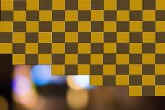 Fond géométrique vert Image stock