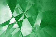 Fond géométrique vert Image libre de droits
