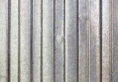 Fond galvanisé ondulé en métal image libre de droits