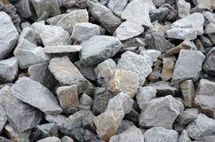 Fond gelé de roche Photographie stock