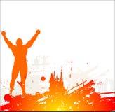 Fond gentil abstrait Image libre de droits