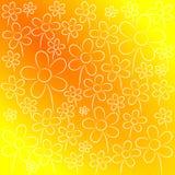 Fond gentil de fleurs Images libres de droits
