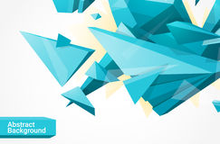 Fond geometrcial polygonal Image stock