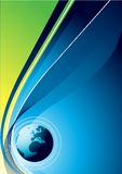 Fond global illustration stock