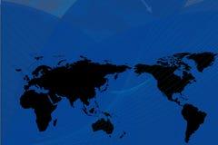 Fond global foncé Image libre de droits