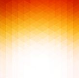 Fond géométrique orange abstrait de technologie Photographie stock