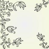 Fond graphique floral Photographie stock libre de droits
