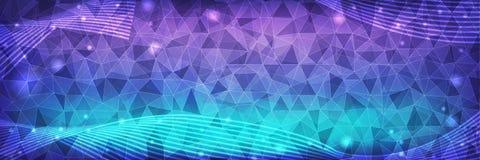 Fond graphique numérique de technologie illustration stock