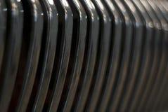Fond - gril d'un radiateur de voiture de vintage photographie stock