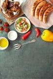 Fond grillé de viande photos libres de droits