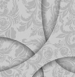 Fond gris abstrait Images stock