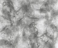 Fond gris abstrait d'aquarelle Images libres de droits