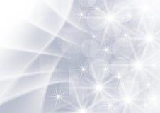 Fond gris abstrait de graphiques avec des étoiles Photos libres de droits