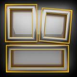 Fond gris chaud en métal Images stock