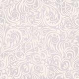 Fond gris-clair floral sans joint Image libre de droits