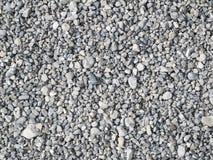 Fond gris de cailloux Images stock