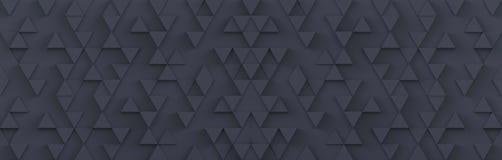 Fond gris de contexte de modèle de triangle rendu 3d illustration libre de droits