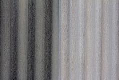 Fond gris de la surface de toit d'amiante Photo libre de droits