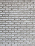 Fond gris de mur de briques Photographie stock
