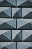 Fond gris de mur de granit Photographie stock