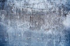 Fond gris de texture de plat d'amiante Ton froid Photographie stock