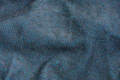 Fond gris de tissu fait à partir du tissu de laine crumby Photographie stock libre de droits
