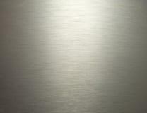 Fond gris en aluminium d'Al en métal de texture Photo libre de droits