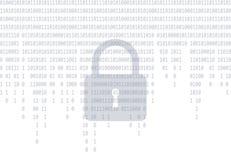 Fond gris en baisse de code binaire illustration de vecteur