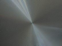 Fond gris en métal Images libres de droits