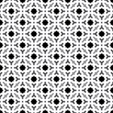 Fond gris et blanc géométrique décoratif sans couture abstrait de modèle Images stock