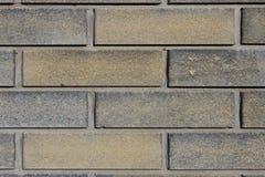 Fond gris-foncé de mur de briques texturisé Photo stock