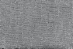 Fond gris grunge, vieux modèle de papier de texture de toile Vieille surface de saleté de vintage avec des taches, éraflures Photos libres de droits