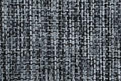 Fond gris élégant de texture de tissu de coton Photographie stock libre de droits