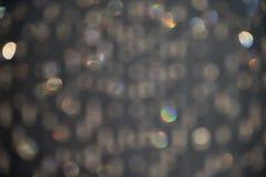 Fond gris orageux d'étincelle Photos stock