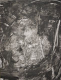 Fond gris peint Image libre de droits