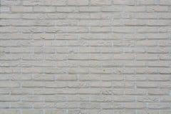 Fond gris peint de mur de briques dans la chambre rurale Image libre de droits