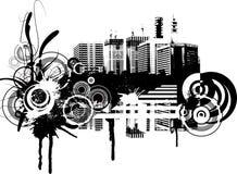 Fond grunge Images libres de droits