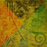 Fond grunge abstrait Photos libres de droits